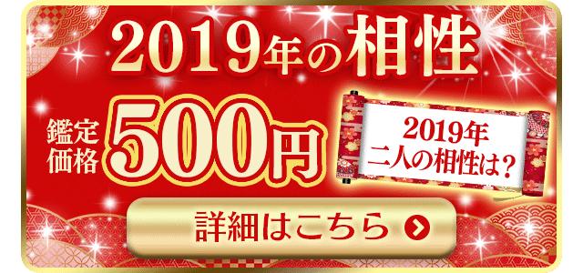 2019年の相性500円